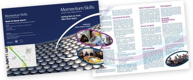 Graphic Design for Momentum