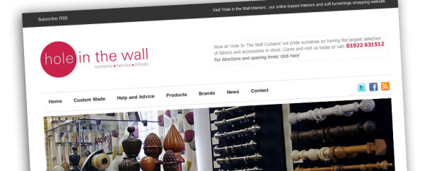 Fabric and Curtain Retailers Responsive Website Design