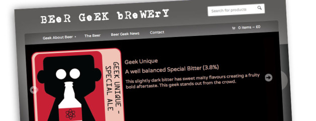 Cask Ale Graphic Design and Ecommerce Website Design