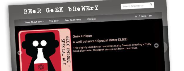 Cask Ale Graphic Design and Ecommerce Website Design