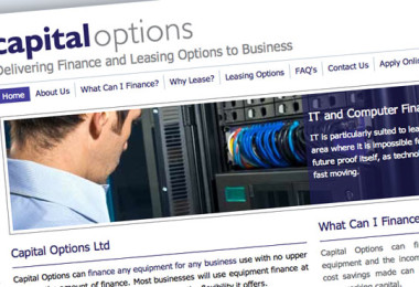 Website Design for Capital Options