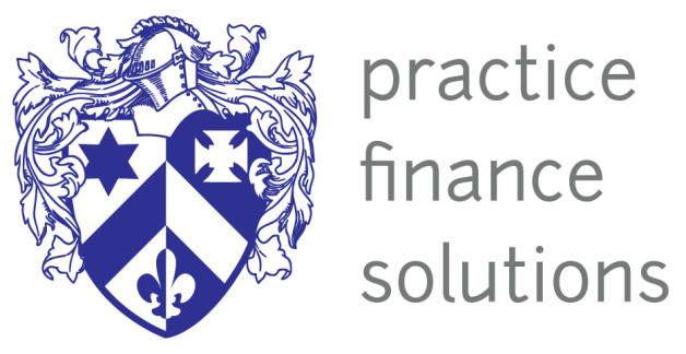 Practice Finance Solutions Logo Design