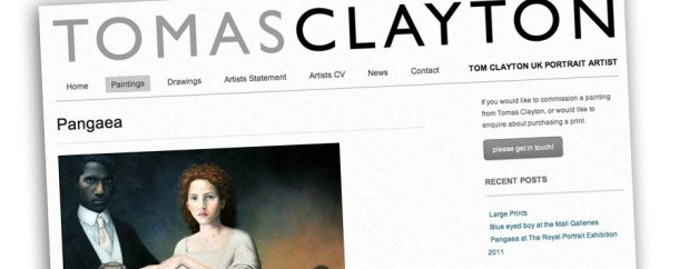 UK Artists Website Design