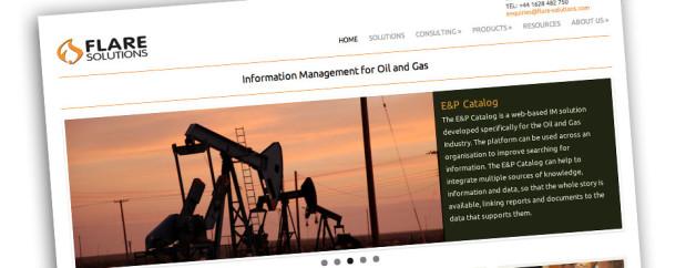 Responsive Website Design for Flare Solutions